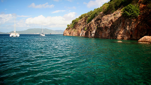 Tortola, the island of european heart and caribbean soul