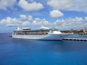 A cruise in Cozumel