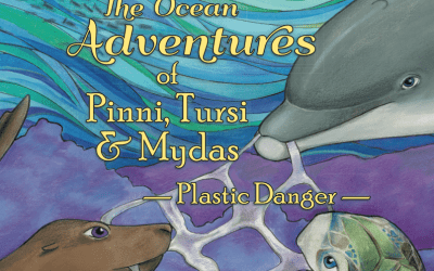 """The Ocean Adventures of  Pinni, Tursi & Mydas"" a book that empowers kids to be environmentally responsible"